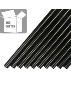 7718-12-250 - Black Polyamide Glue Sticks - 12mm